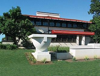 Westcott House (Springfield, Ohio) - The Westcott House by Frank Lloyd Wright