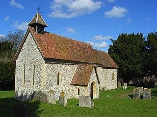 Pishill village in United Kingdom