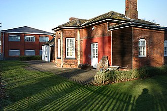 Hampton-in-Arden railway station - The old Hampton-in-Arden station building (1837)