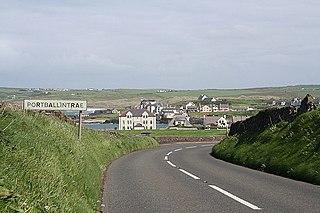 Portballintrae Human settlement in Northern Ireland
