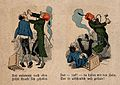 The story of a man with toothache, his attempts at self Wellcome V0012097.jpg