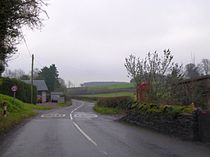 The telephone box at Twitchen (geograph 4273588).jpg