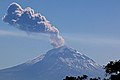 """The volcano, Popocatepetl (Nahuatl for """"Smoking Mountain"""", on the east side of the Valley of Mexico, errupts on Dec.2018.jpg"""