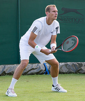 Thiemo de Bakker - Thiemo de Bakker at the 2015 Wimbledon Qualifying