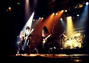Thin Lizzy - Thin Lizzy 8 August 1977; Robertson, Lynott, Gorham, Downey