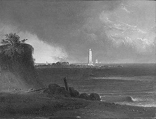 Lighthouse at Nantasket Beach