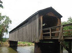 Thompson Mill Covered Bridge from southwest.jpg