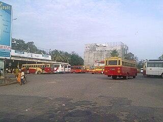 Thrissur KSRTC bus station