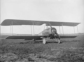 Thulin LA 1917 Swedish biplane