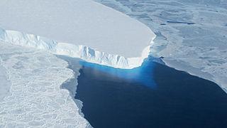 Thwaites Glacier Antarctic glacier