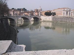 View of Tiber and the Vatican State Picture ta...