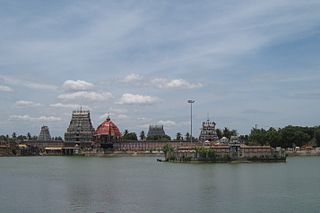 Thiruvarur Town in Tamil Nadu, India