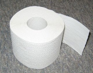 Das Toilettenpapier, auch Klop