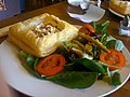 Tomato and Basil Tart at Cafe Boheme, 2009.jpg