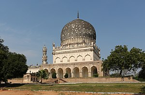 "V. I. P. (1997 film) - Tomb of Hayath Bakshi Begum in Hyderabad, Telangana, India seen in the song ""Minnal Oru Kodi""."