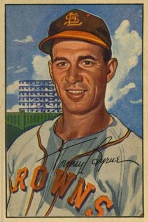 Tommy Byrne (baseball) - Image: Tommy Byrne