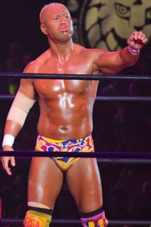 Tomoaki Honma Japanese professional wrestler
