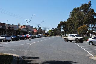 Tongala Town in Victoria, Australia