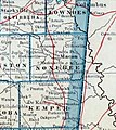 Topographical and political map of the state of Mississippi around Macon 1921.jpg