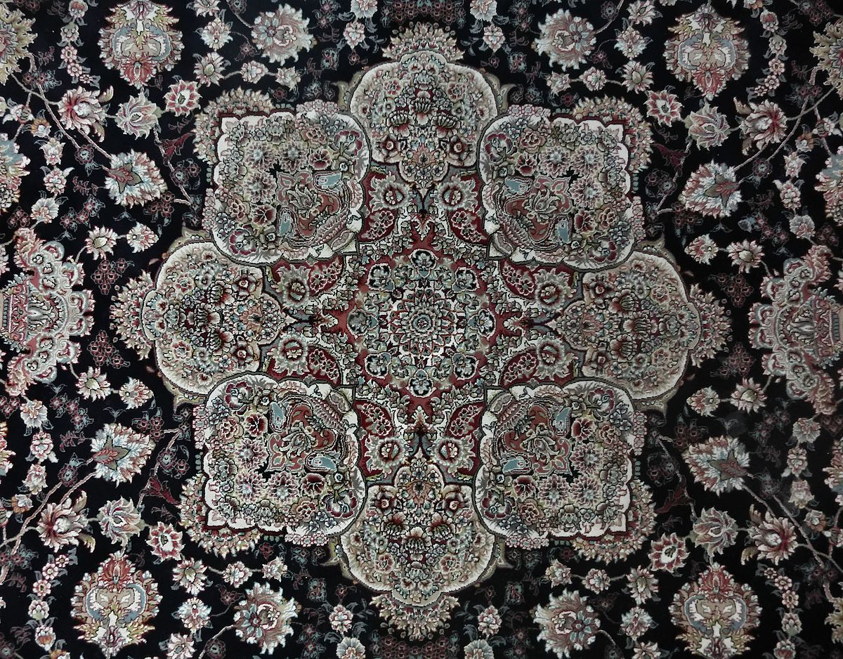 Asian carpet design-2048