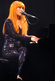 Tori Amos v Madison Square Garden New York, USA
