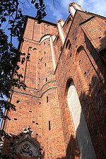 Toruń, katedra św. św. Janów, (fasada zach.) ul. Żeglarska (4) (OLA Z.)