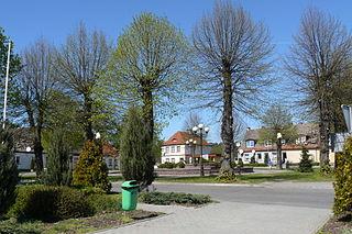 Torzym Place in Lubusz Voivodeship, Poland