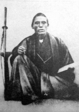 Ōkubo Toshimichi - Ōkubo Toshimichi as a young samurai.