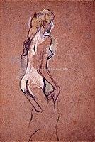 Toulouse-Lautrec - FILLETTE NUE, 1893, MTL.153.jpg