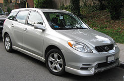 Toyota Matrix (2002–2004)