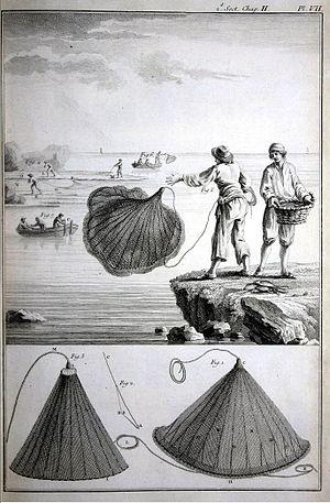 """Henri-Louis Duhamel du Monceau - From """"Traité général des pesches"""""""