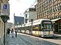 Tramway de Gand - Rame 6331 Hermelijn à Rekelingestraat.JPG