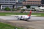 TransAsia Airways ATR 72-212A B-22820 Taxiing at Taipei Songshan Airport 20150908d.jpg