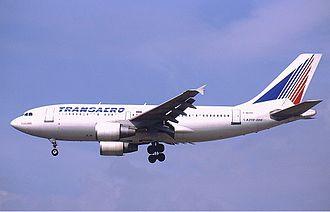 Transaero - A Transaero Airbus A310-300