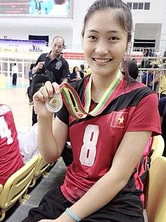 Trần Việt Hương Vietnamese volleyball player