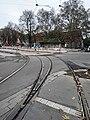 Travaux tram Strasbourg-Koenigshoffen (2019), interstation Porte des romains - Porte blanche 05.jpg