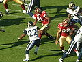 Travis Minor rushes at Rams at 49ers 11-16-08.JPG