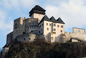 Treaty of Trentschin - Trenčín Castle