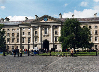 University of Dublin - Front Square of Trinity College