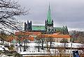 Trondheim - Nidarosdomen og Erkebispegården i januar.jpg