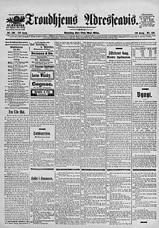 <i>Adresseavisen</i> newspaper