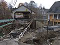 Tropical Storm Irene Damage-Bridge at Quechee Vermont 2011-10-23.jpg