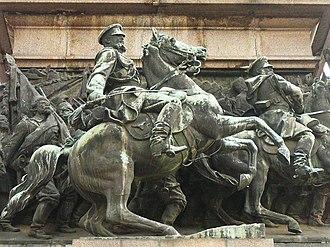 Arnoldo Zocchi - Monument to the Tsar Liberator in Sofia, Bulgaria, 1907