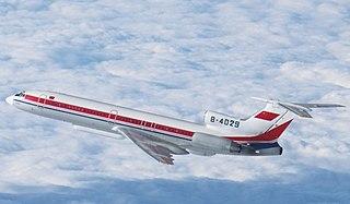 Tupolev Tu-154 Airliner by Tupolev