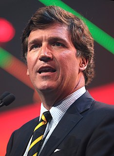 Tucker Carlson American conservative political commentator from California