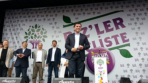 Turkish general election, 2015 - Peoples' Democratic Party (Turkey) Selahattin Demirtaş