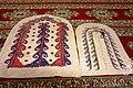 Turkmen namazliks in mosque in Nohur village, Turkmenistan.JPG