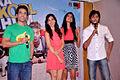 Tusshar Kapoor, Neha Sharma, Sarah Jane Dias, Riteish Deshmukh at 'Kyaa Super Kool Hain Hum' promotions 04.jpg