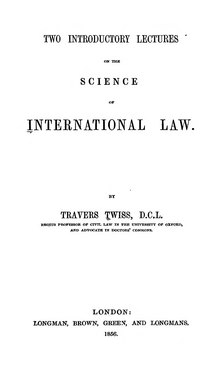 Two Introductory Lectures on the Science of International Law.djvu