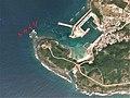 Twuishi rock reef Yonaguni, Okinawa Aerial photograph.2012.jpg